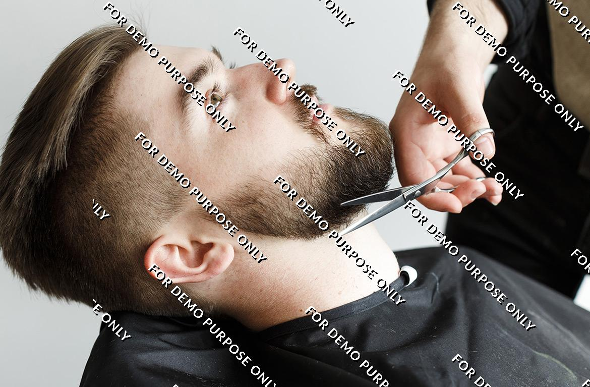 Beard Cutting